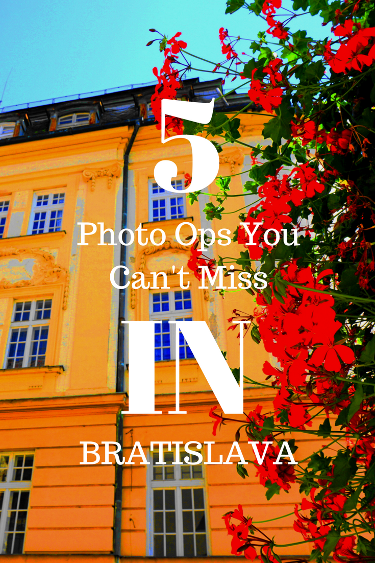 Bratislava Slovakia photo ops and what to do in Bratislava