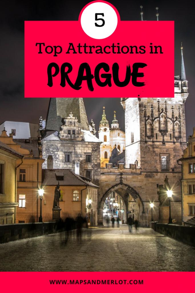 Prague's Top Attractions - don't miss these top 5 tourist sites; Prague bucket list