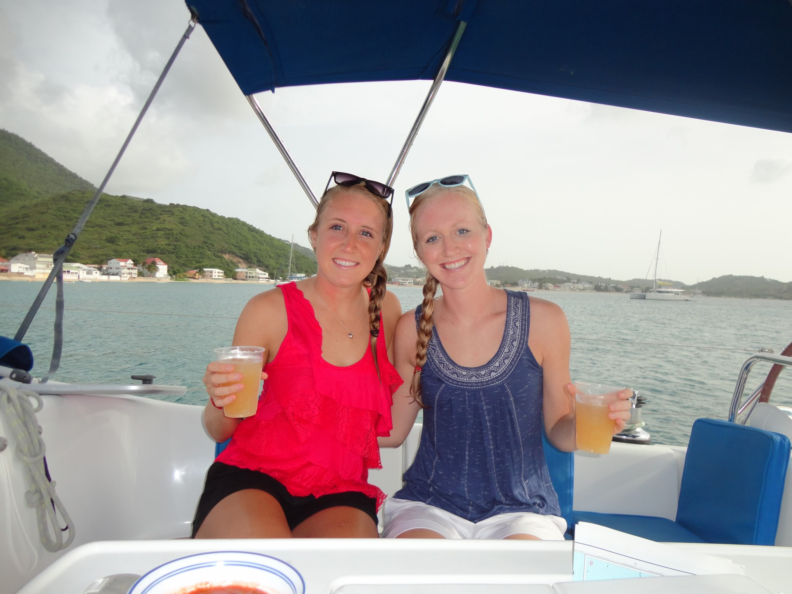 what to do in St Barts - happy hour on a boat