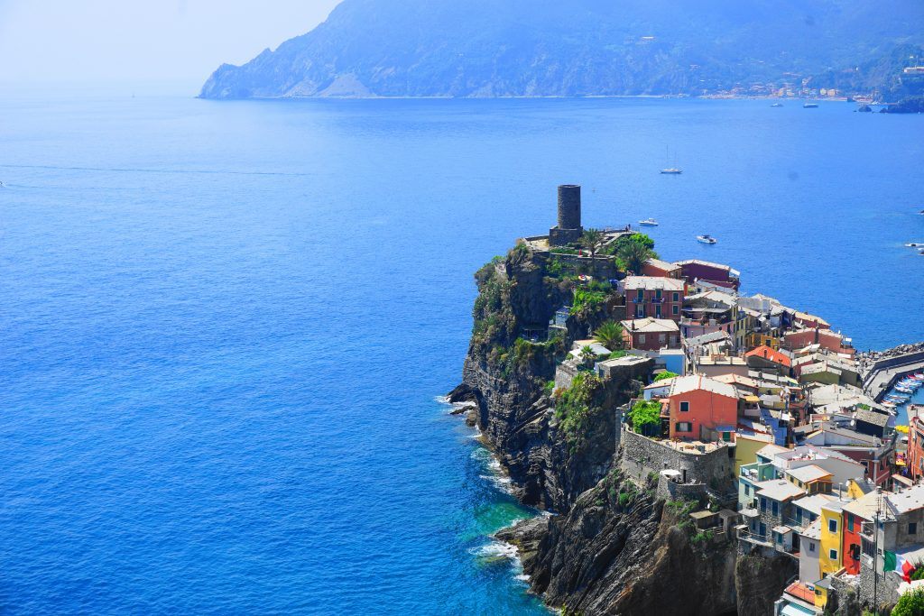 Hiking Cinque Terre - from above