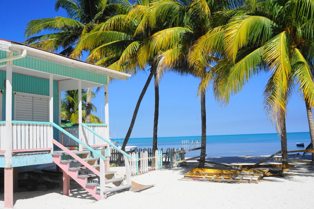 Pastel houses - things to do in Caye Caulker
