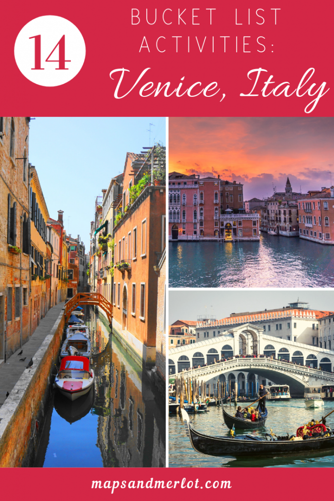 top attractions in Venice, Italy