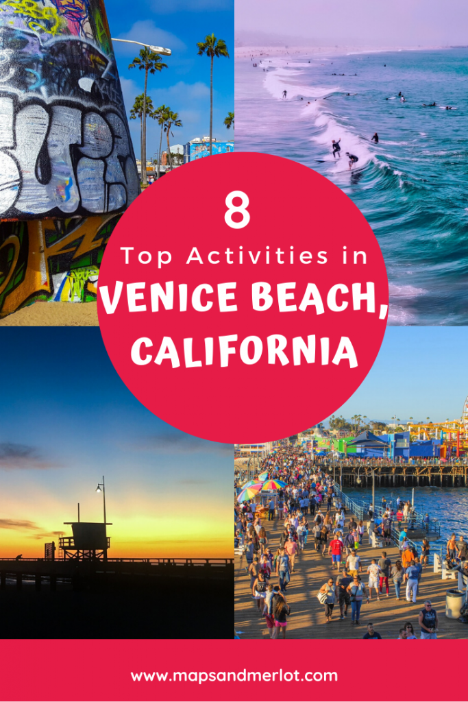 Venice Beach, California things to do; Venice Beach, CA itinerary