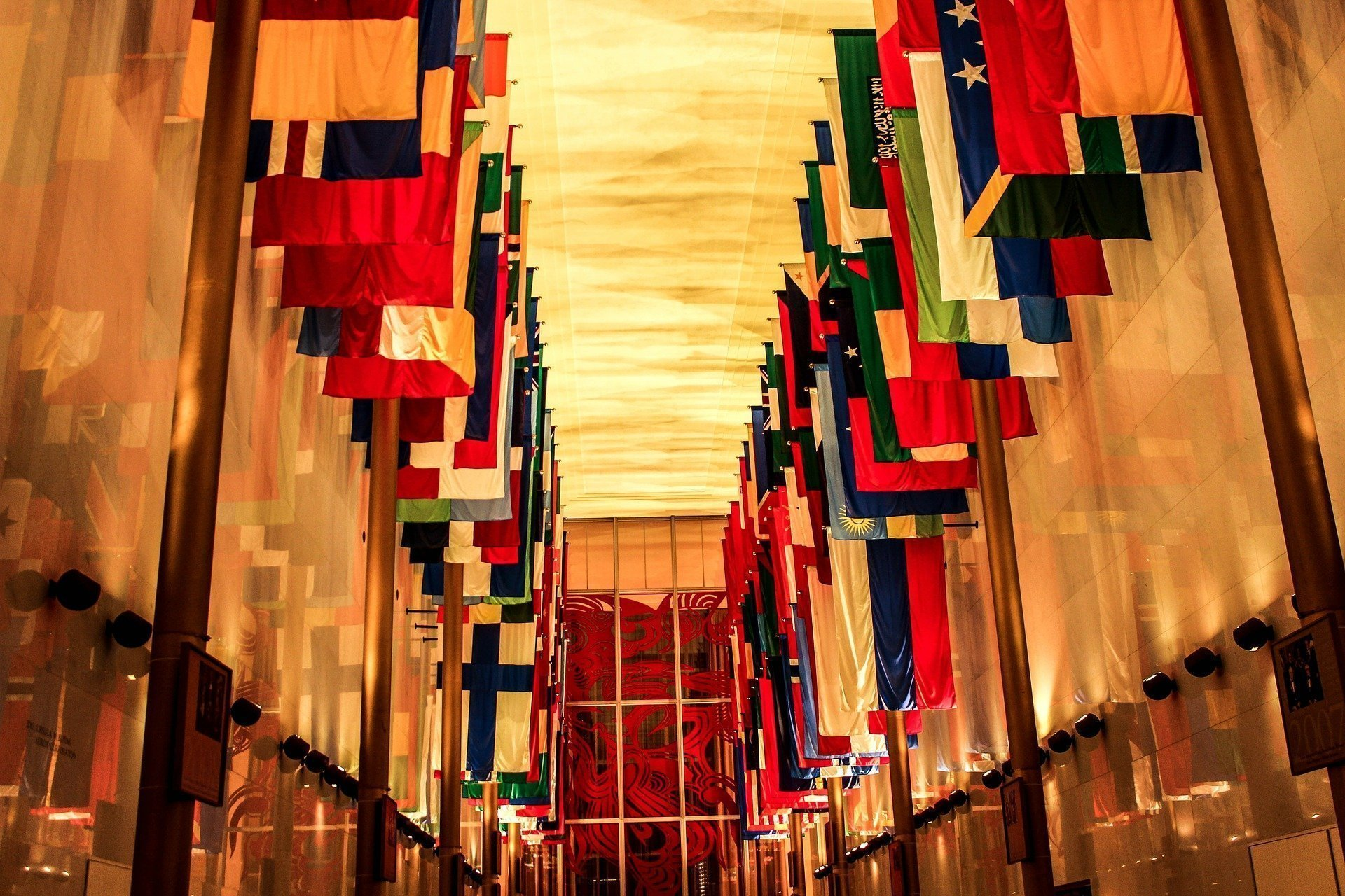 top Washington DC tourist attractions - Hall of Nations