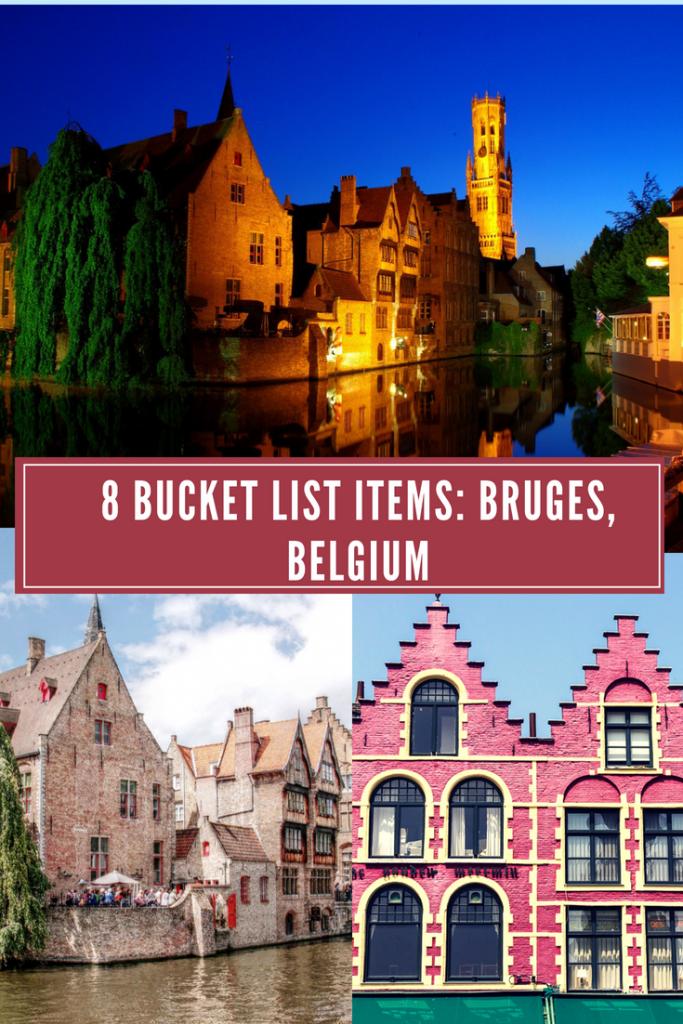 Explore 8 unique things to do in Bruges, Belgium! #travelbelgium #bruges #beertour