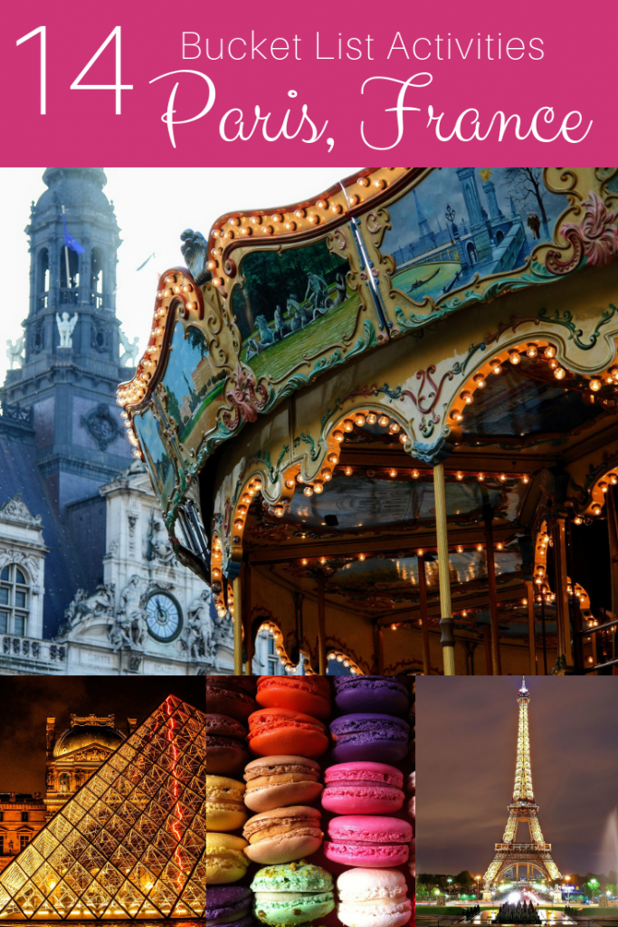 Make sure you add these top activities to your Paris bucket list! #paris #france #travelparis
