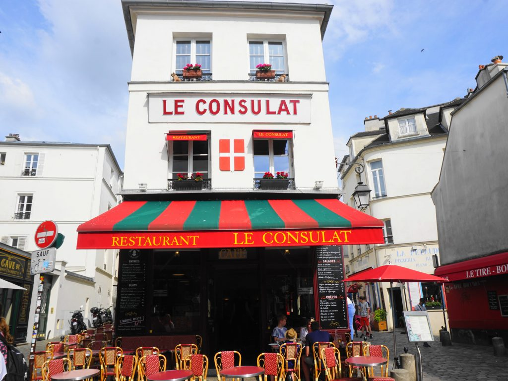 Le Consultat Café in Montmartre, Paris