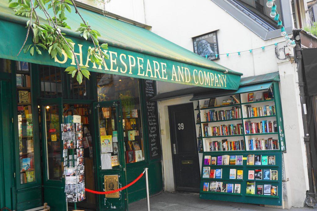 Shakespeare & Co Bookstore in Paris