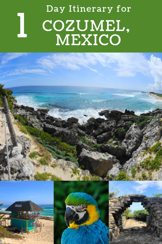 Plan the perfect 1 day in Cozumel, Mexico! These photos will show you why this paradise needs to be your next vacation! #cozumel #mexico #visitcozumel