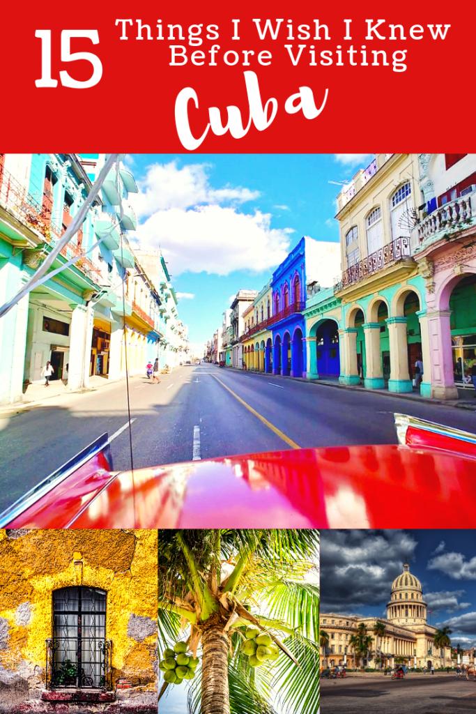 15 things to know before visiting Cuba - Cuba travel tips #cuba #travelcuba #havana #oldhavana