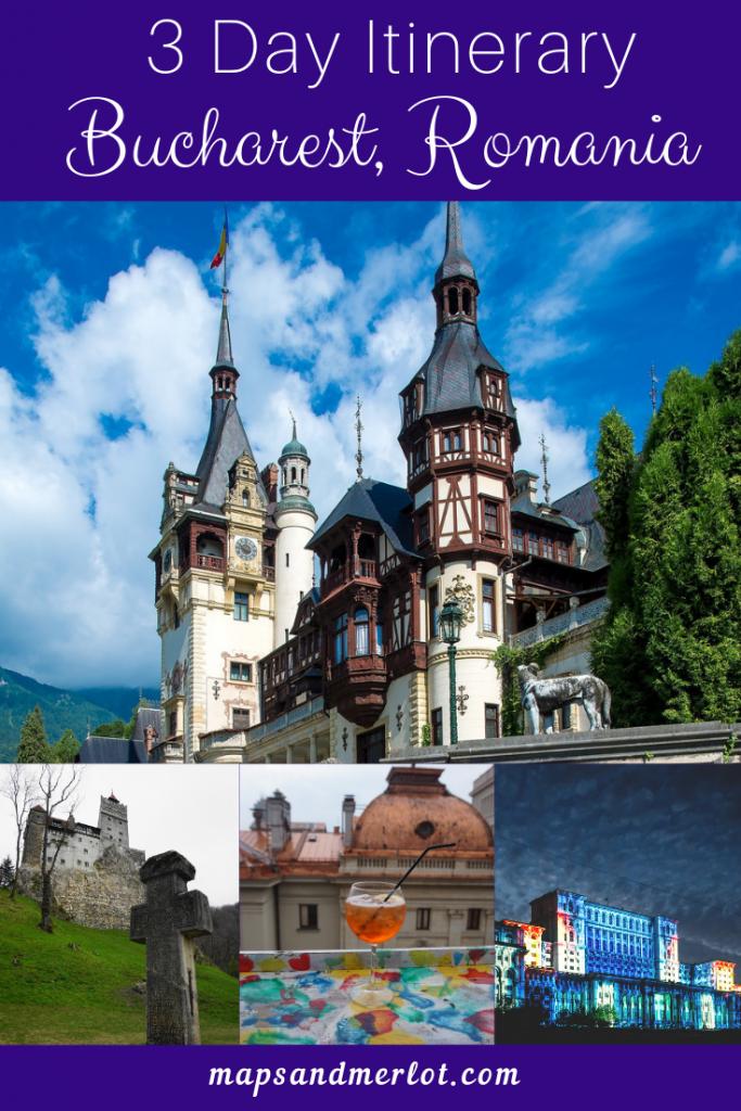 Discover the best 3 day Bucharest itinerary - 3 days in Bucharest, Romania #dracula #bucharest #travelbucharest